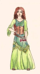 Main character from The Windkeeper. Age: 15 at beginning of book, 16 at the end. Magic: Air, status Indigowind; and Earth, specialty Keeper. Tools of magic: panpipes and morganite.